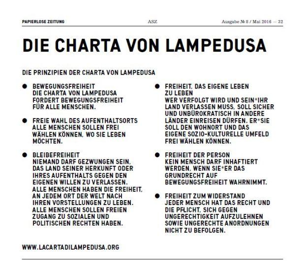 Charta von Lampedusa